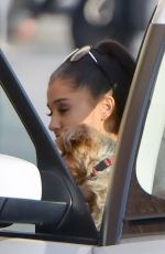 Ariana Grande Arriving At