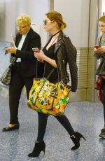 Ashley Benson At An Airport In Miami