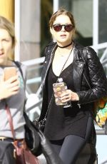 Ashley Benson Outside Her Hotel In Miami