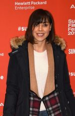 """Aubrey Plaza At """"Manchester By The Sea"""" Premiere During The 2016 Sundance Film Festival"""