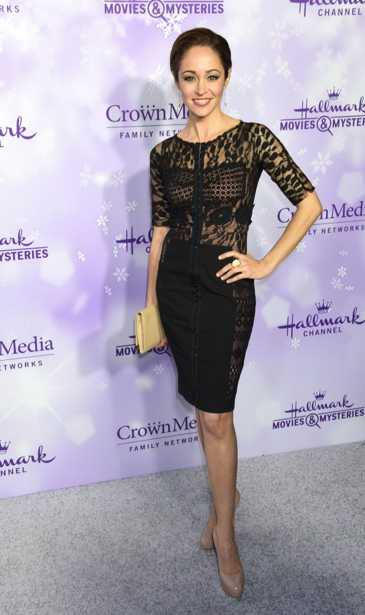 Autumn Reeser At Hallmark Channel Party At 2016 Winter TCA Tour In Pasadena