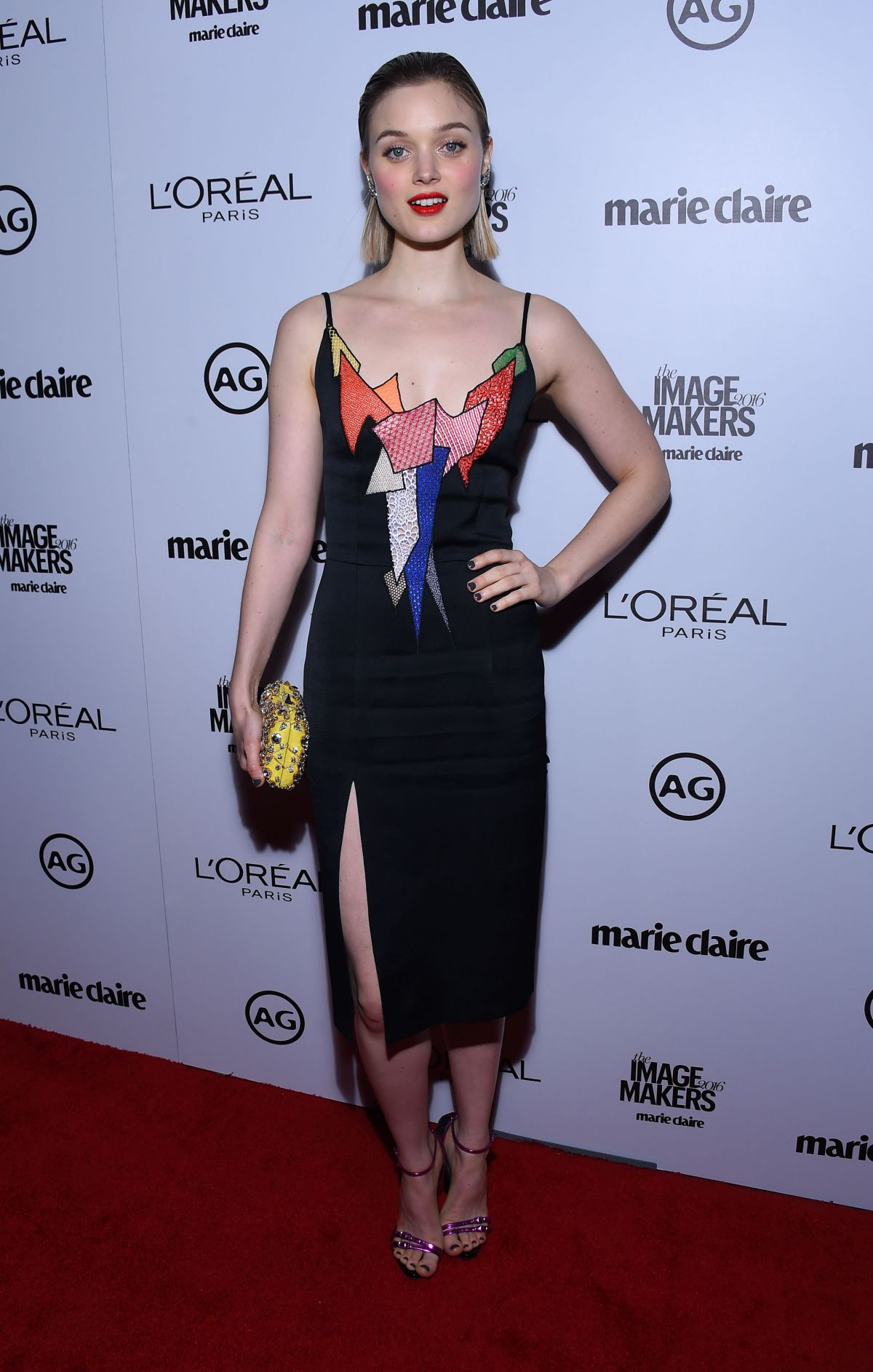 Bella Heathcote At Inaugural Image Maker Awards In LA