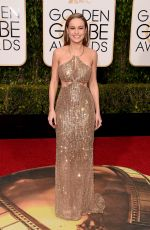Brie Larson At 73rd Annual Golden Globe Awards In Beverly Hills
