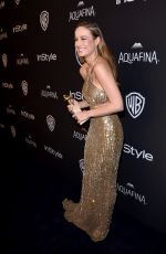 Brie Larson At InStyle and Warner Bros. 73rd Annual Golden Globe Awards Post-Party