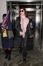 Brooke Shields At LAX