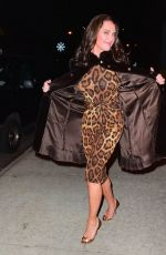 Brooke Shields Leaving Watch What Happens Live In NYC