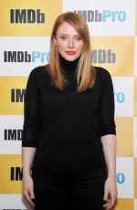Bryce Dallas Howard At The IMDb Studio In Park City