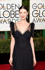 Caitriona Balfe At 73rd Annual Golden Globe Awards In Beverly Hills