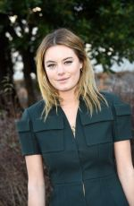 Camille Rowe At Christian Dior Fashion Show In Paris
