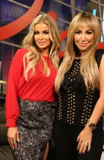 Carmen Electra At The Lowdown Show With Diana Madison In Hollywood