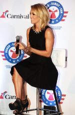 Carrie Underwood Announces Her Partnership with Carnival Cruise Line in Jacksonville