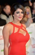 Casey Batchelor At 21st National Television Awards In London