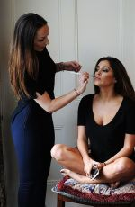 Casey Batchelor At Photoshoot For London-based Pia Michi At Cliveden House In Berkshire