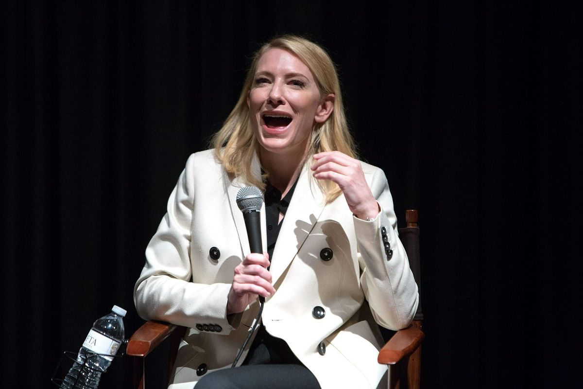 Cate Blanchett Behind Closed Doors On In Los Angeles