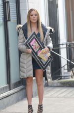 Charlotte Crosby Promoting Her Fitness DVD In London