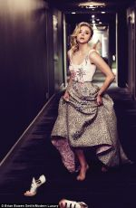 Chloe Grace Moretz In Modern Luxury Magazine - Jan / Feb 2016 Adds