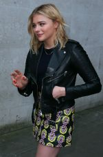 Chloe Grace Mortez At BBC Radio One Studios