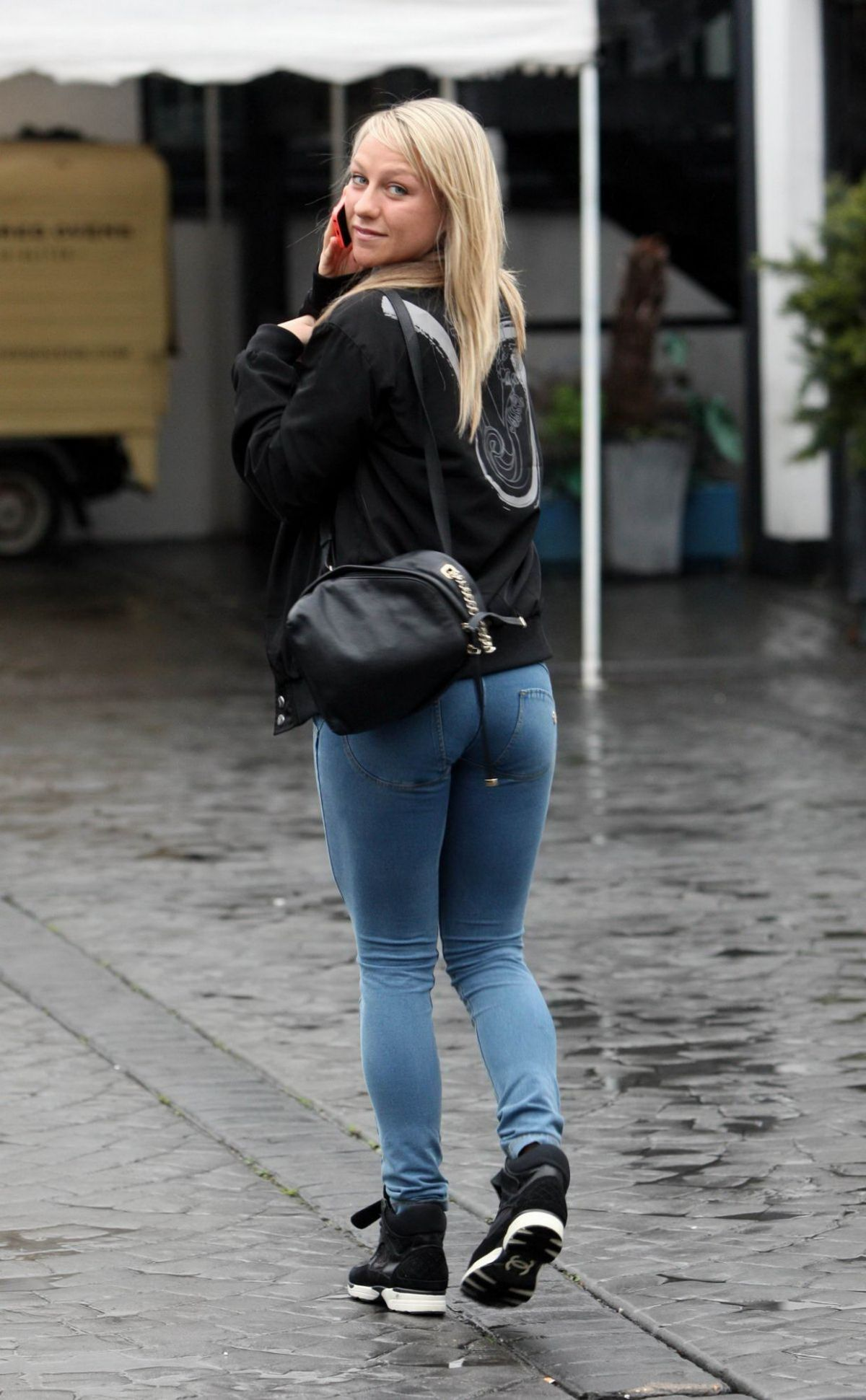 Chloe Madeley Heading To A Photoshoot In North London
