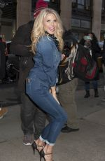 Christie Brinkley Out In NYC