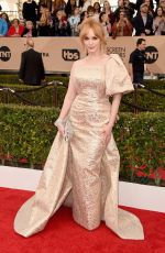 Christina Hendricks At 22nd Annual Screen Actors Guild Awards In Los Angeles