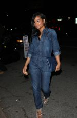 Christina Milian Leaving Nice Guy In West Hollywood
