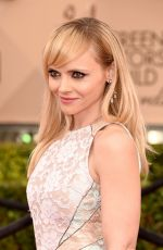 Christina Ricci At 22nd Annual Screen Actors Guild Awards In Los Angeles
