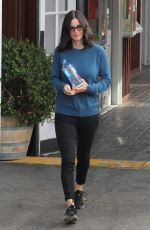 Courteney Cox Out In Brentwood