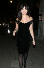 Daisy Lowe At The GQ London Collections In Mayfair
