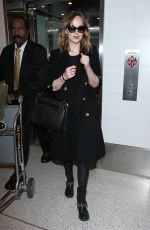 Dakota Johnson At LAX