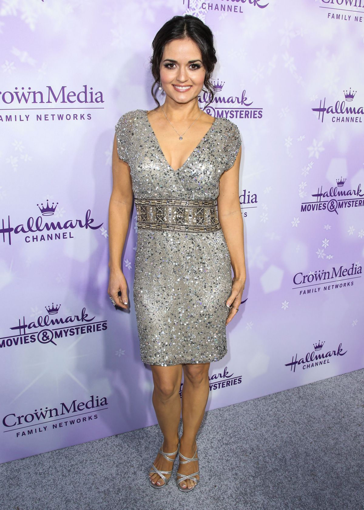 Danica McKellar At Hallmark Channel Party At The 2016 Winter TCA Tour