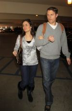 Danica McKellar At LAX Airport