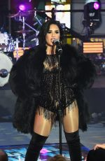 Demi Lovato Performing On New Year