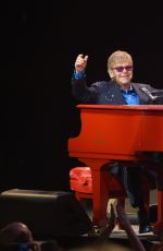 Demi Lovato Performing With Elton John At The Wiltern In LA