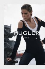 Doutzen Kroes At Photoshoot by Christian Macdonald For Mugler Spring/Summer 2016