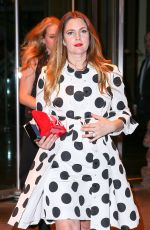 Drew Barrymore Leaving The Mandarin Oriental Hotel In NYC