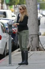 Elizabeth Berkley Out In Beverly Hills