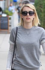 Emma Roberts Effortlessly Chic and Casual Running Errands In Beverly Hills