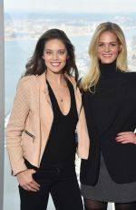 Erin Heatherton and Emily DiDonato At Sports Illustrated Swimsuit 2016 Press Conference In NYC