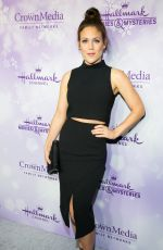 Erin Krakow At Hallmark Channel #Winterfest Party At The 2016 Winter TCA Tour