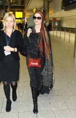 Eva Green At Heathrow
