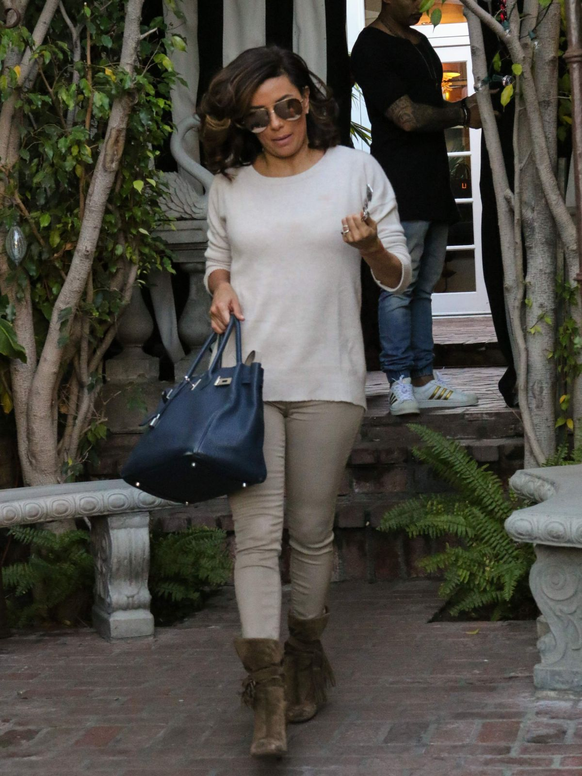 Eva Longoria Is Seen Out And About In Los Angeles