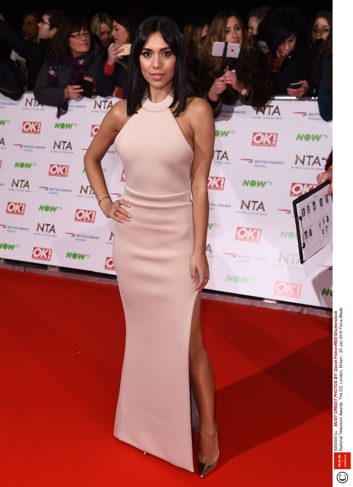 Fiona Wade At Red Carpet National Television Awards - Celebzz ...
