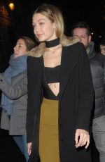 Gigi Hadid Out And About In Paris