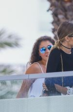 Gigi Hadid Out For Lunch In Miami