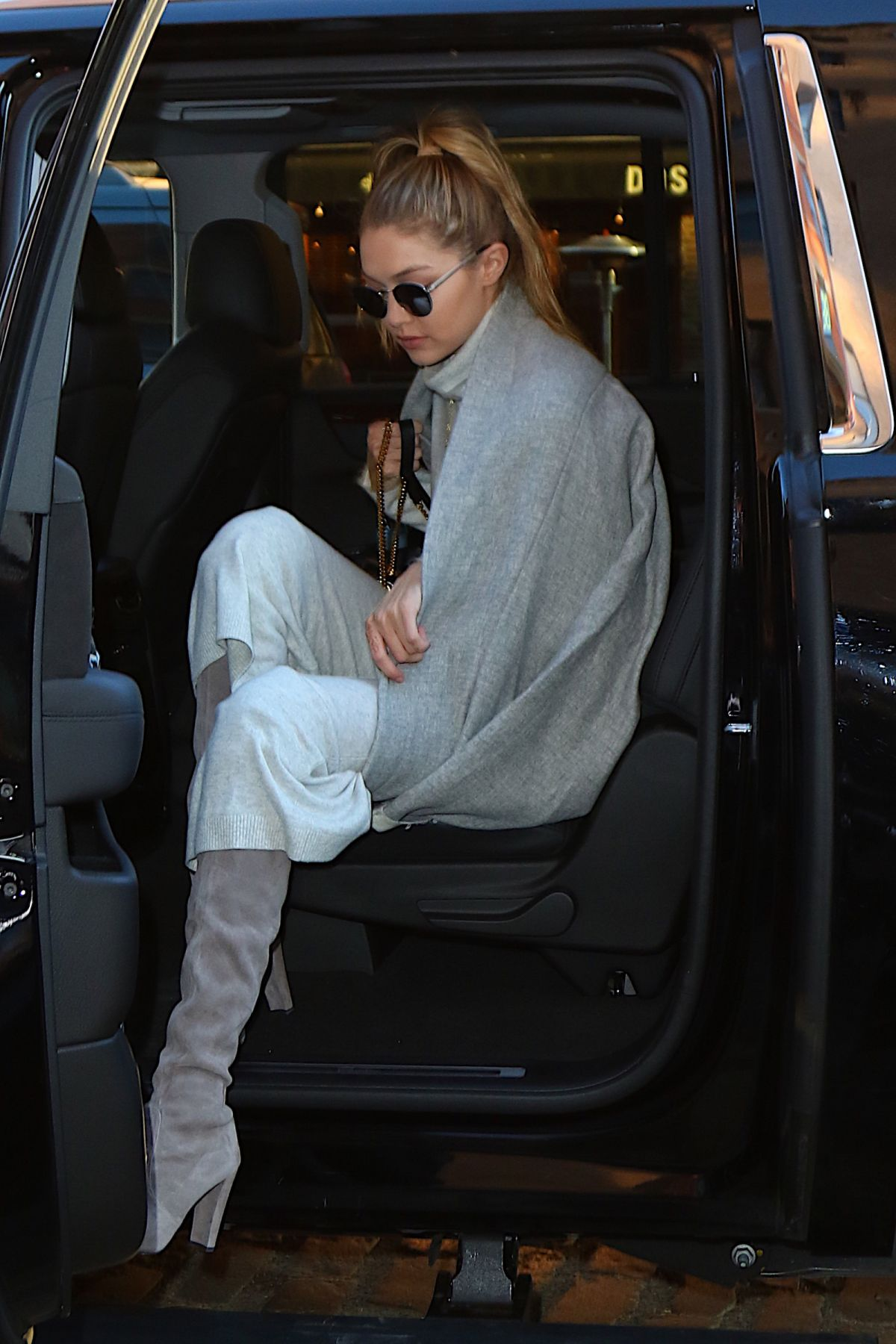 Gigi Hadid Out In New York City