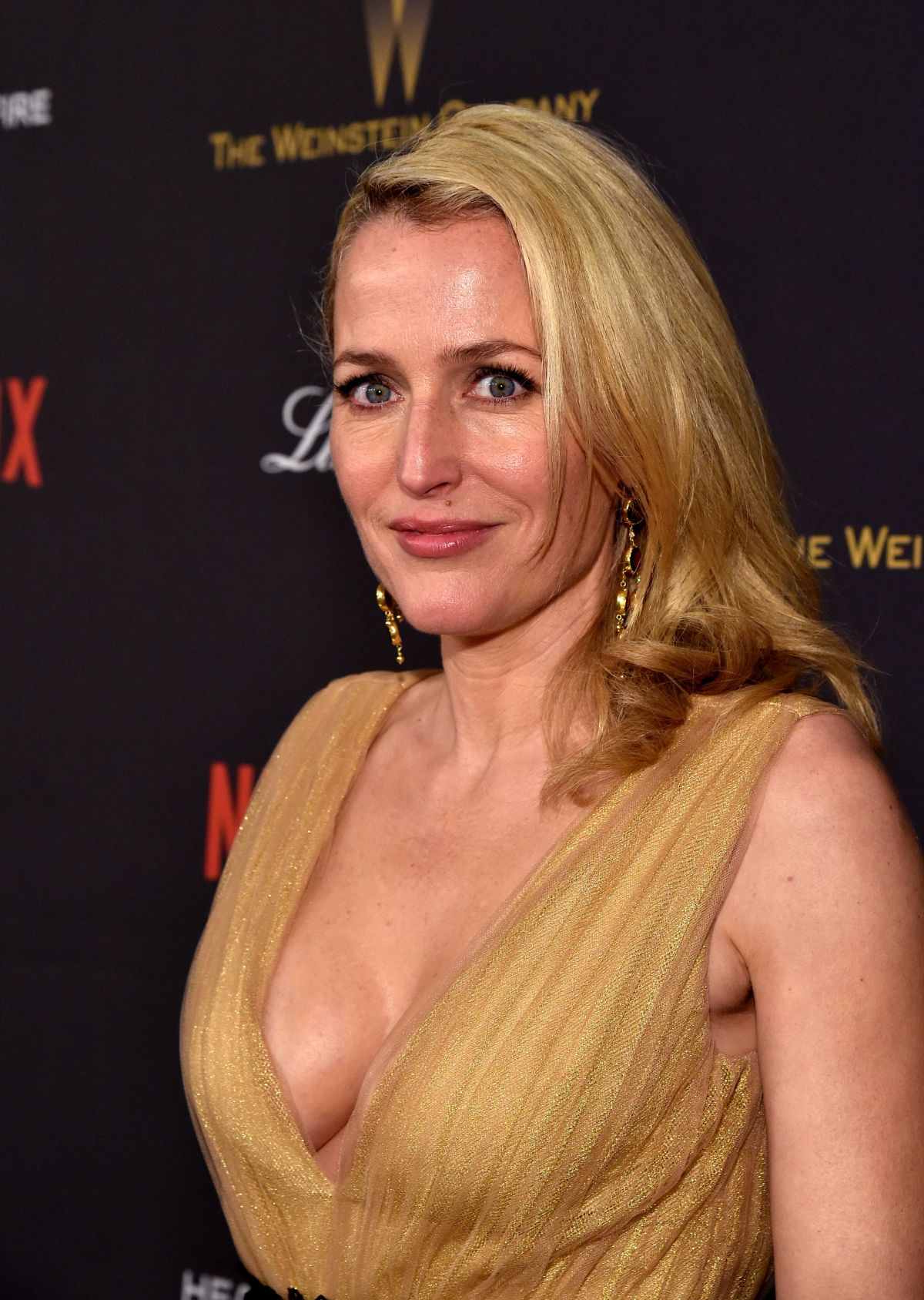 Gillian Anderson At Th...