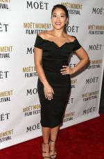 """Gina Rodriguez At """"The Moet & Chandon celebration: 25 Years At The Golden Globes In West Hollywood"""""""