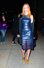 Heather Graham Leaving Watch What Happens Live