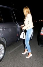 Heidi Klum Spotted Out At Matsuhisa Restaurant In Beverly Hills