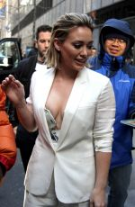 Hilary Duff Arriving At Today Show In New York